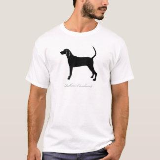 Redbone Coonhound silhouette T-Shirt