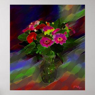 Redboy's vase variation poster