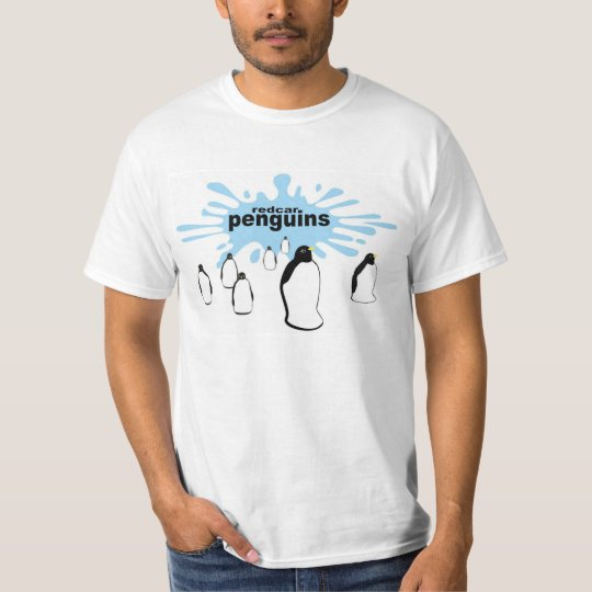 REDCAR T-Shirt Redcar Penguins (with splash)