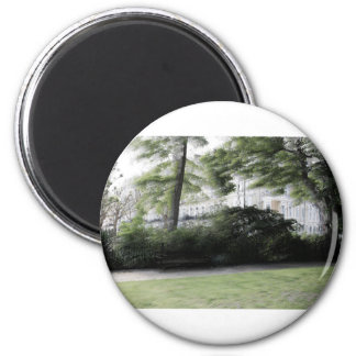 Redcliff square Garden in London 2 Inch Round Magnet