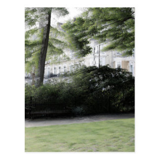 Redcliff square Garden in London Postcard