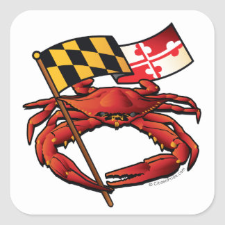 RedCrab_MD_banner.ai Square Sticker
