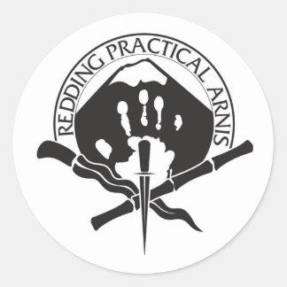 Redding Practical Arnis LOGO Classic Round Sticker