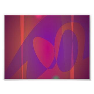 Reddish-Brown Simple Abstract Art Art Photo