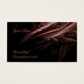 Reddish twig Business Card