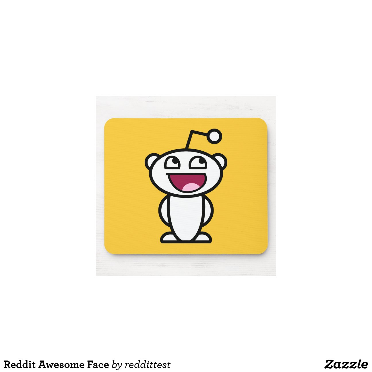 Reddit Awesome Face Mouse Pad