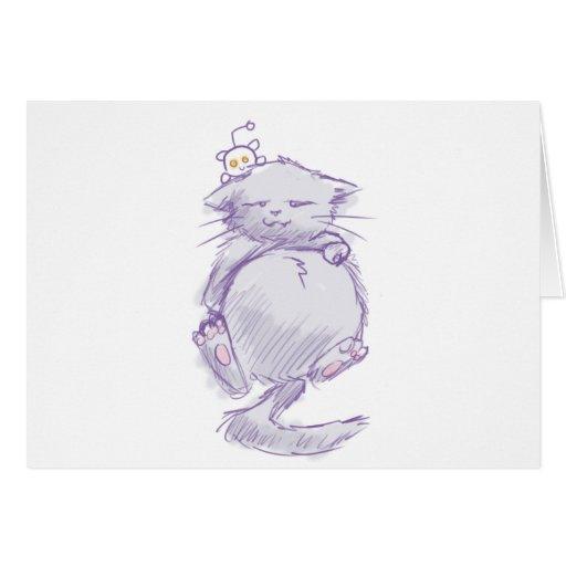 Reddit cat card