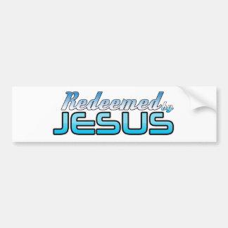 Redeemed by Jesus Bumper Sticker