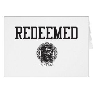 Redeemed Post Card