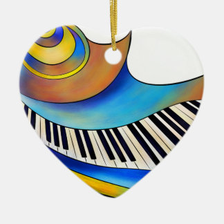 Redemessia - spiral piano ceramic ornament