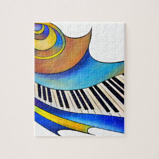 Redemessia - spiral piano jigsaw puzzle
