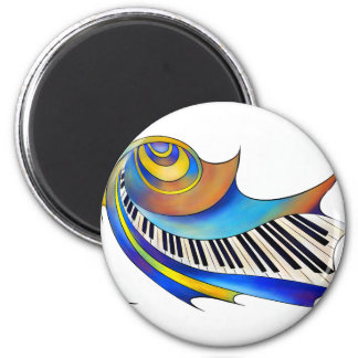 Redemessia - spiral piano magnet