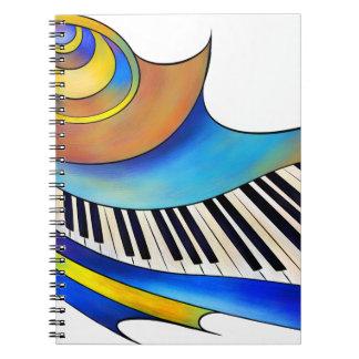 Redemessia - spiral piano notebook