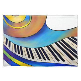 Redemessia - spiral piano placemat