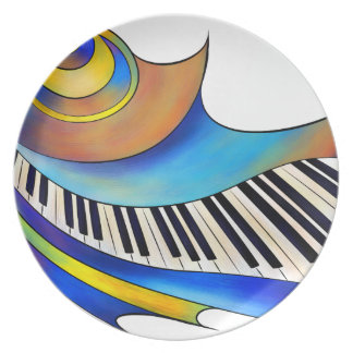 Redemessia - spiral piano plate