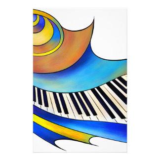 Redemessia - spiral piano stationery