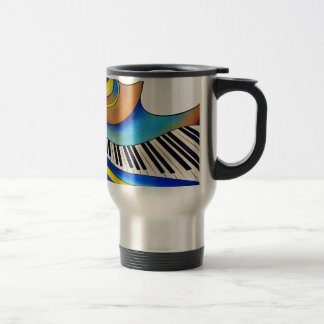 Redemessia - spiral piano travel mug