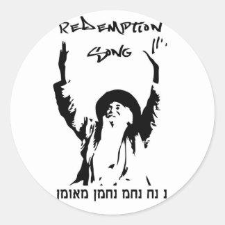 Redemption Song Sticker bigger size
