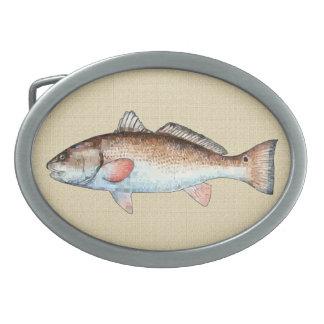 Redfish Belt Buckles