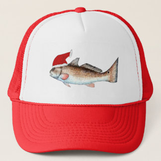 Redfish Santa Hat Christmas