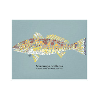 Redfish Wrapped Canvas Gallery Wrapped Canvas