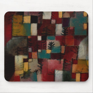 Redgreen and Violet-yellow Rhythms by Paul Klee Mouse Pad