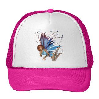 Redhead 3D Pixie - Purple & Blue Trucker Hat