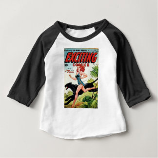Redhead and her Panther Baby T-Shirt