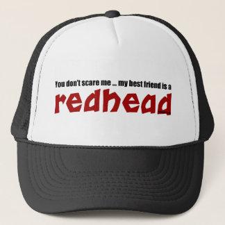 Redhead Best Friend Trucker Hat