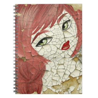 Redhead Doll Notebook