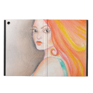 Redhead Lady Case For iPad Air