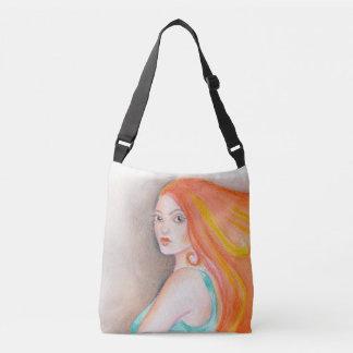 Redhead Lady Crossbody Bag