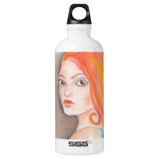 Redhead Lady Water Bottle