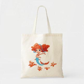 Redhead Little Girl Mermaid