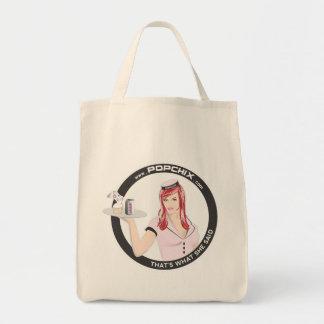 Redhead PopChiX Girl Grocery Tote! Tote Bag