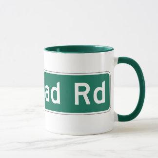 Redhead Road, Street Sign, Iowa, US Mug