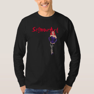 Redhead with SeymourArt T-Shirt