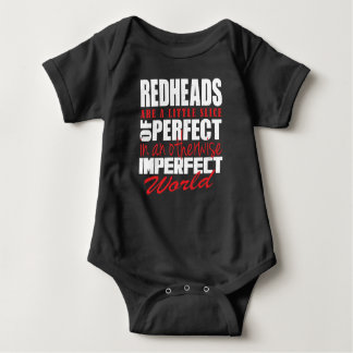 Redheads are a slice of perfect !!! baby bodysuit
