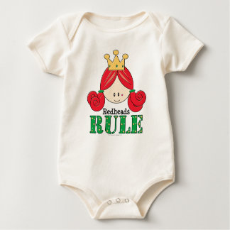 Redheads Rule Redhead Baby Baby Bodysuit