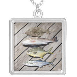 Redish Pompono Silver Plated Necklace