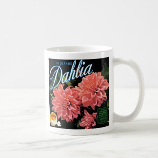 Redlands Dahlia Brand Coffee Mug