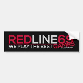 Redline69 Games - Bumper Sticker (Black)