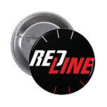 Redline Pinback Button