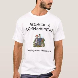 Redneck 10 Commandments T-Shirt