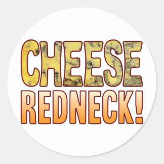 Redneck Blue Cheese Round Sticker