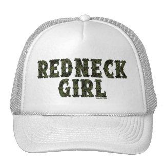 Redneck Girl Green Camo Hats