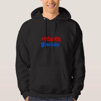redneck graduate hooded sweatshirt