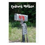 Redneck Mailbox Post Card
