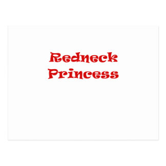 Redneck Princess Postcard