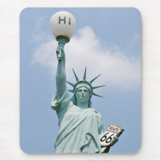 Redneck Statute of Liberty Mouse Pad